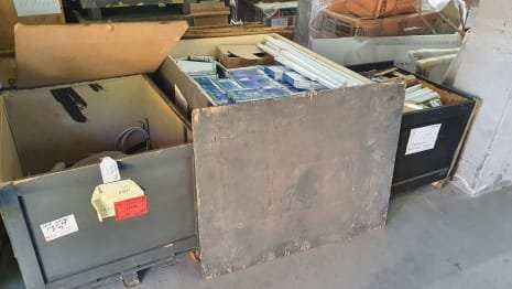 Lot of electrical equipment