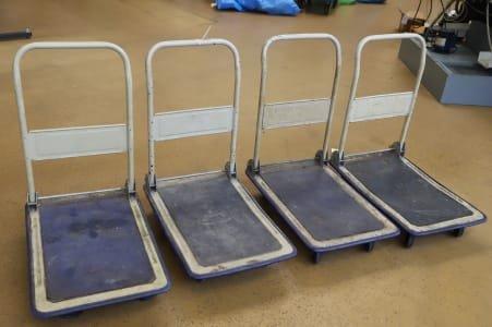 Lot of Transport Trolleys