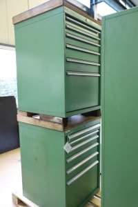 LUTZ Lot of Workshop Drawer Cabinets without Content