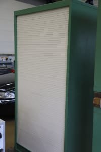 Roller Shutter Cabinet without Content