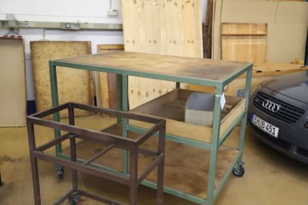 Lot of Assembly Tables