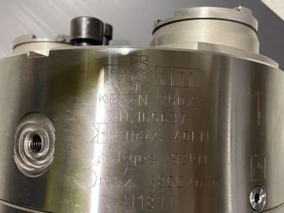 Mandril de sujeción RÖHM KBF-N 250/3