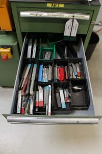 Workshop Drawer Cabinet with Contents