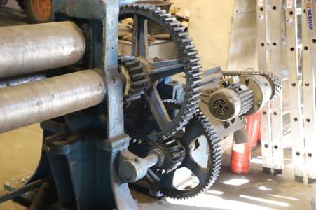 Three-Roller-Sheet Round Bending Machine