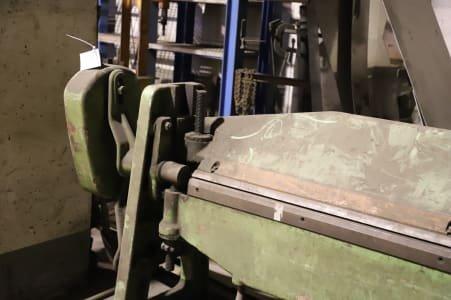 STROJAREN PIESOK XK 2000/2A Swivel Bending Machine