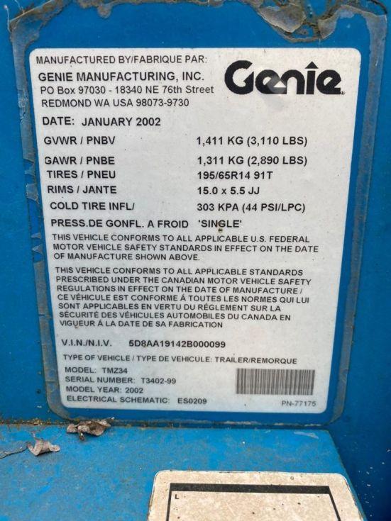 Plataforma autopropulsada 12Mt Genie TMZ 34/19