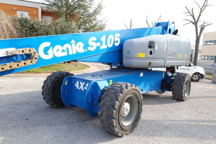 Plataforma telescopica 33Mt Genie S105 4WD