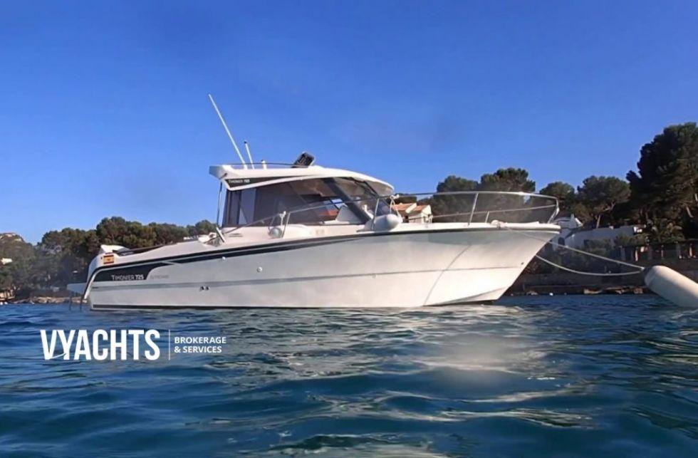 Embarcación Ocqueteau Timonier 725