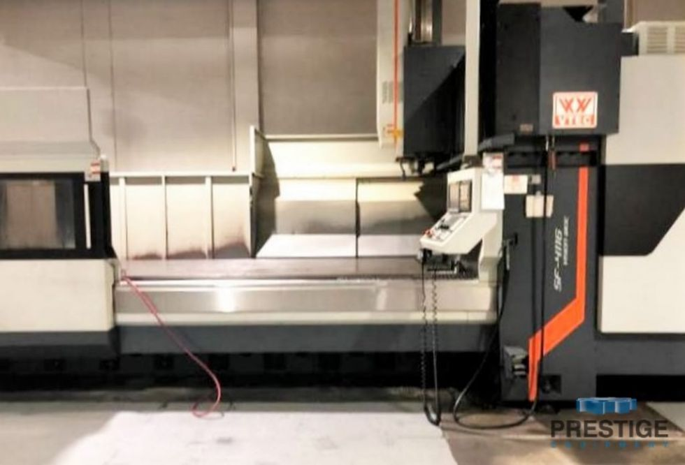 Centro de mecanizado vertical de doble columna CNC