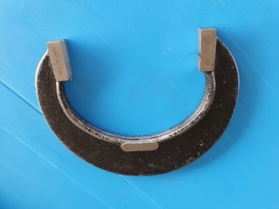 HOMMEL Border throat gauges with bracket