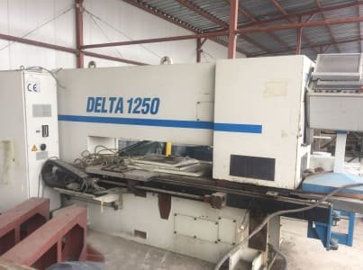 LVD Delta 1250 RSTK 20 Station CNC Punch with 3 Auto index