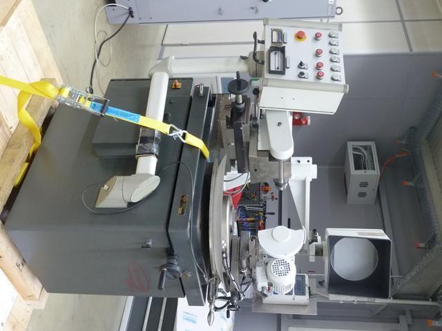 Máquina para repasar y perfilar las muelas