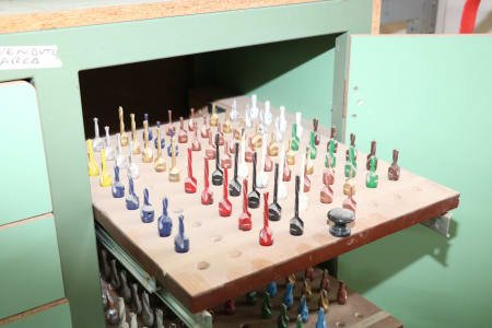 Lot of milling tools and drills