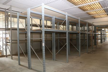 Lot of Pallet Racks