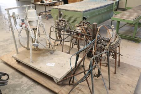Lot of Airless Painting Pumps