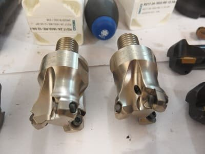 SECO Lot End Mills/ Cutter Heads