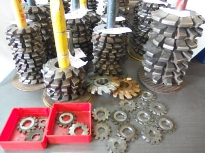 Lot Module Cutters / Tooth Form Cutters