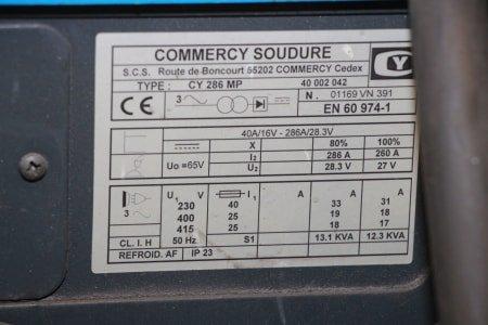 COMMERCY SOUDURE CY 286 MP Welder