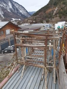 Lot work trestles