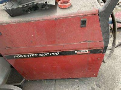LINCOLN POWERTEC 420 C PRO Welding device