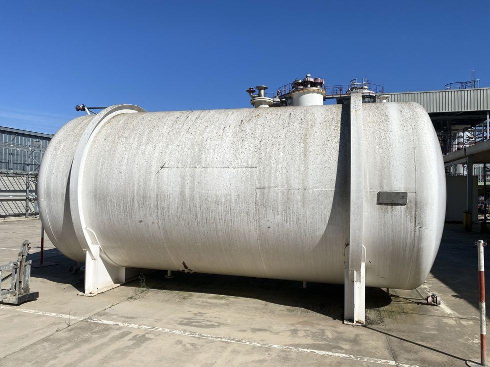Deposito acero inoxidable 40.000 litros de segunda mano