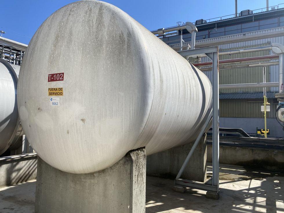 Deposito esmaltado pfaudler 25.000 litros de segunda mano