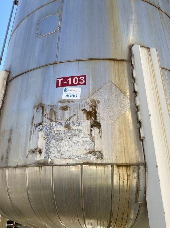 Deposito esmaltado pfaudler ch50000 50.000 litros de segunda mano