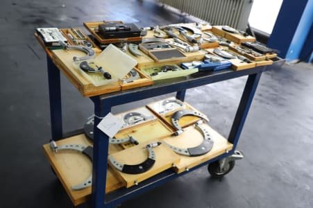 Workshop Transport Trolley with Content