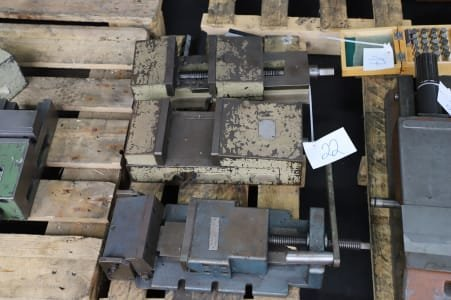Lot of Machine Vices