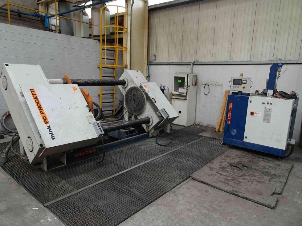 Maquinaria fabricacion valvulas