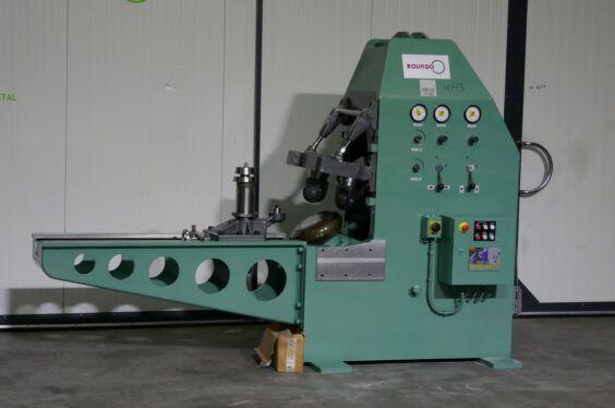 Roundo PULLMAX - F71 Flanging machine Ø 4000 x 20 mm 6485 = Mach4metal