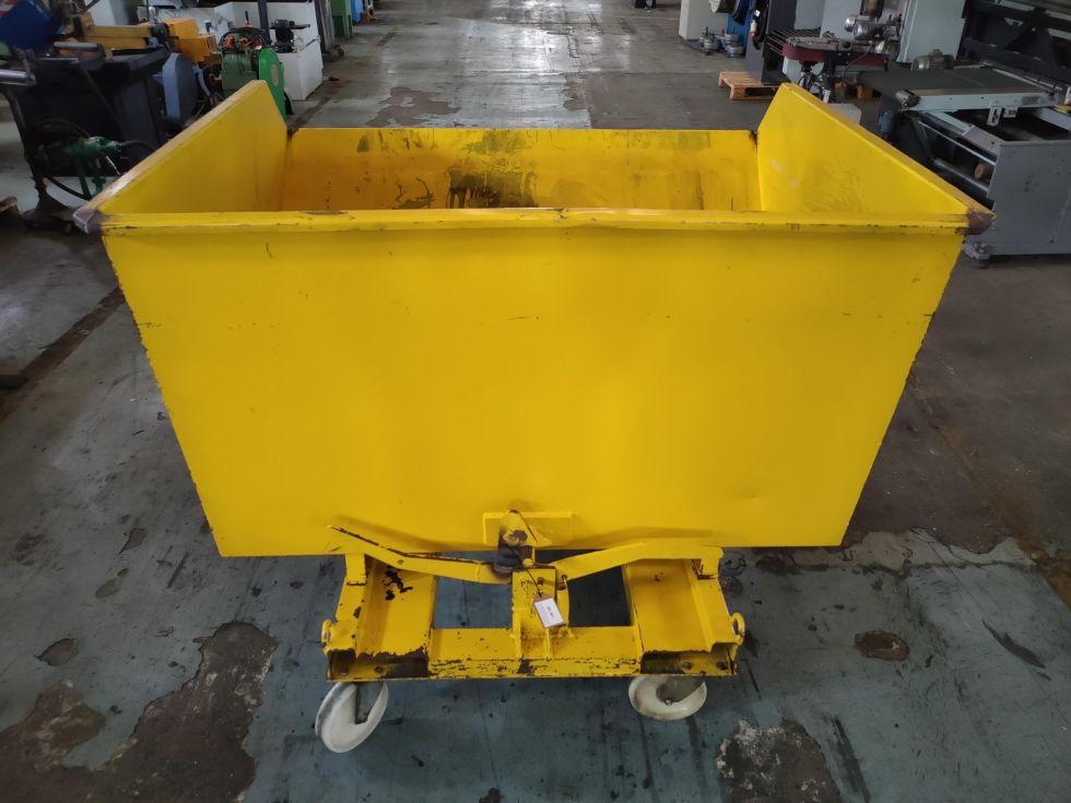 Contenedor autobasculante de 1000 lts de capacidad
