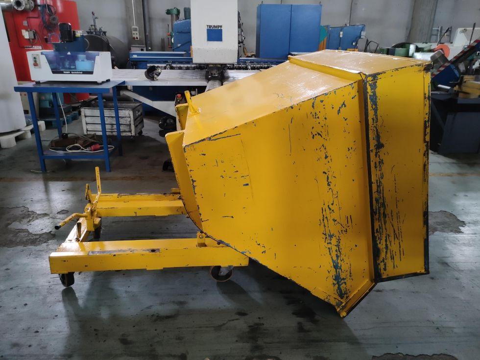 Contenedor autobasculante de 1200 lts de capacidad