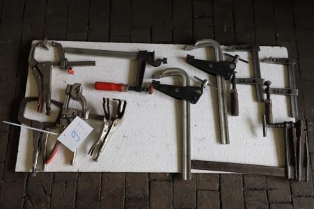 Lot of Screw Clamps