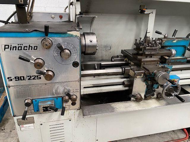 Torno Pinacho de 1650 x 530 mm