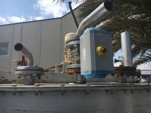 Depósito reactor 2.000 litros en acero inox con agitador ATEX y serpentín