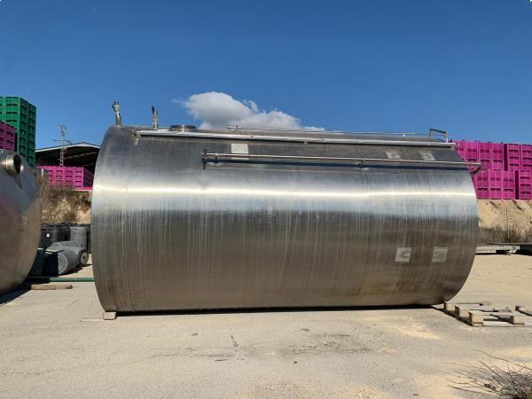 Depósito 25.000 litros en acero inoxidable 316
