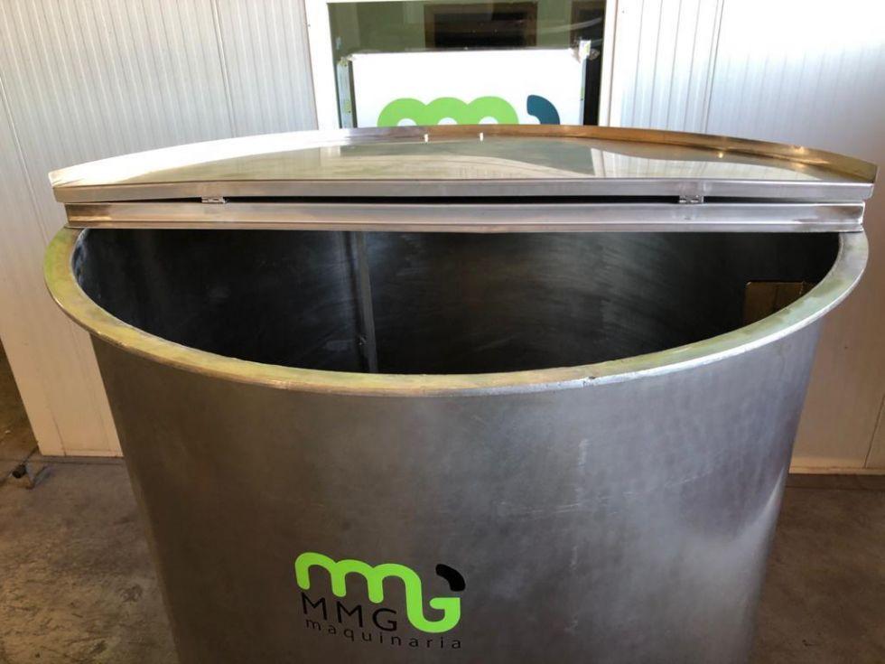 Depósito 2.500 litros de acero inoxidable con emulsionador ATEX