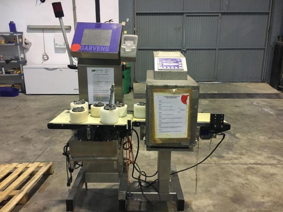Detector de metales con controlador de peso GARVENS