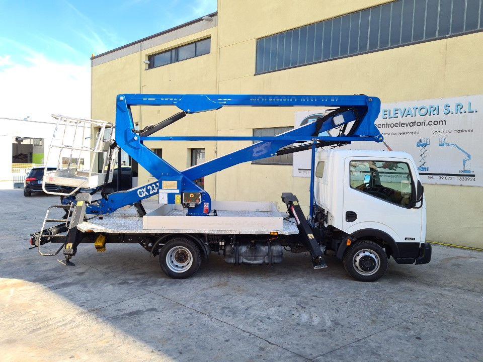 Plataforma sobre camion 23Mt Manotti Galaxylift 23.11