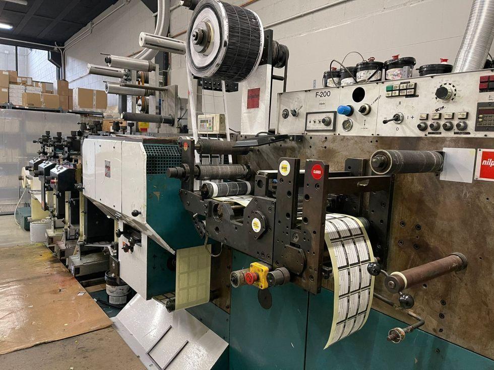 Impresora etiquetas flexografica