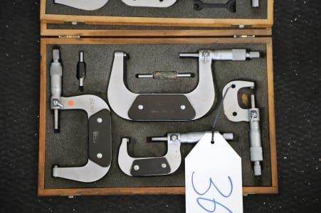 PREISSER Lot of Outside Micrometers