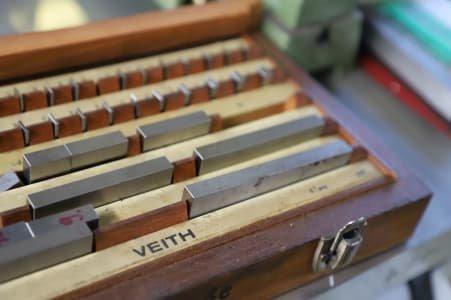 VEITH Gauge Block Box