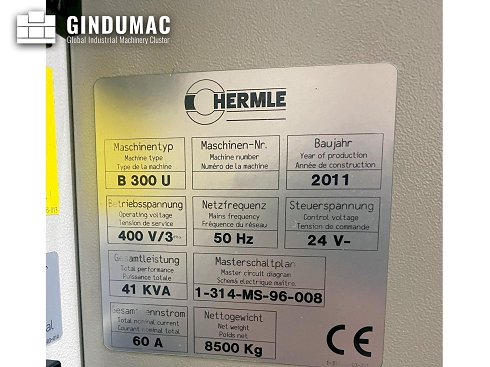 HERMLE B 300 U