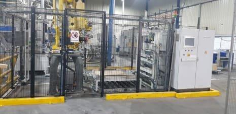 Sistema compacto de paletización RIMA SYSTEM RS400