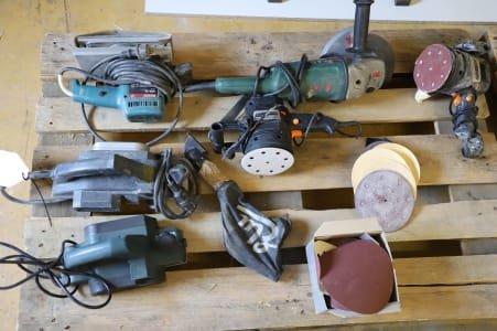 Lot hand machines