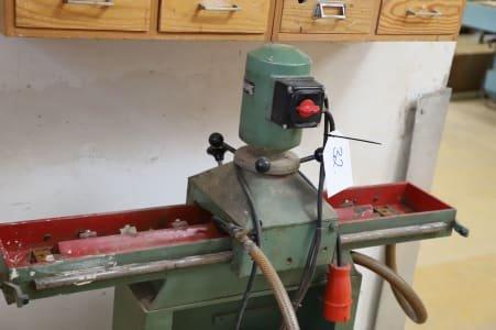 Planer blade sharpening machine