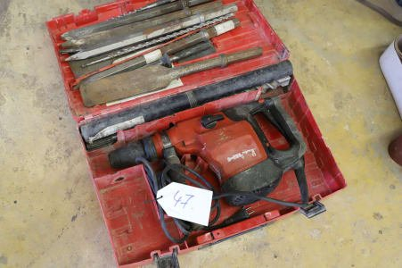 HILTI TE76 Hammer drill and chisel