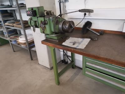Work Spindle on Workbench