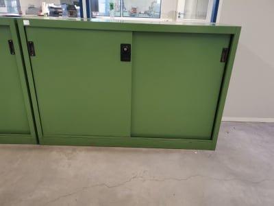 2 Workshop Cabinets